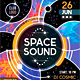 Space Sound Flyer Template - GraphicRiver Item for Sale