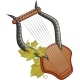 Ancient Cittern With Vine - GraphicRiver Item for Sale