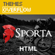Sporta - Extreme Sports, Manufacture HTML Template - ThemeForest Item for Sale