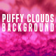 Puffy Clouds Background - VideoHive Item for Sale