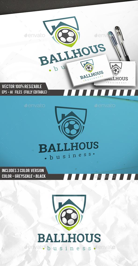 Football House Logo