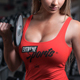 Female Fitness Gym Tank Top T-shirt Mock-up - GraphicRiver Item for Sale