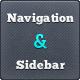 Web Navigation and Sidebar Elements - GraphicRiver Item for Sale