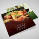Restaurant Menu Trifold - GraphicRiver Item for Sale
