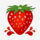Strawberry Logo Template - GraphicRiver Item for Sale