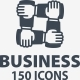 Business Management Icons - Blue Series - GraphicRiver Item for Sale