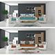 interior scene - 3DOcean Item for Sale