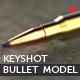 AK-47 3D model bullet keyshot Bundle - 3DOcean Item for Sale