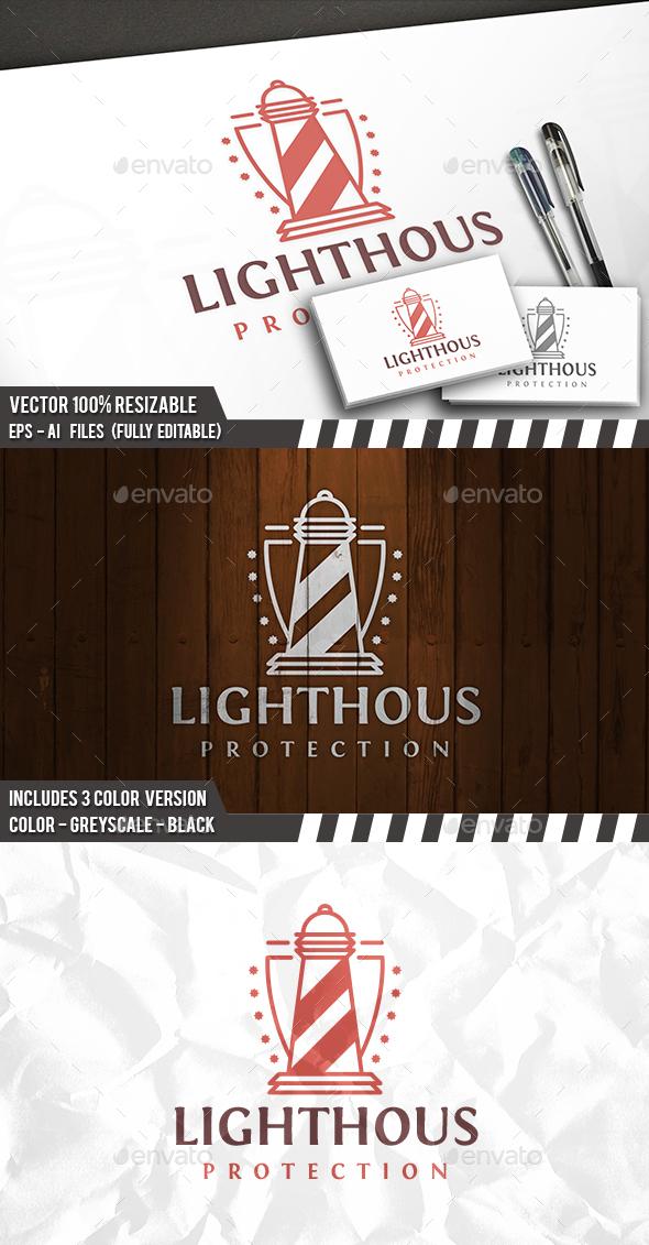 Lighthouse Crest Logo