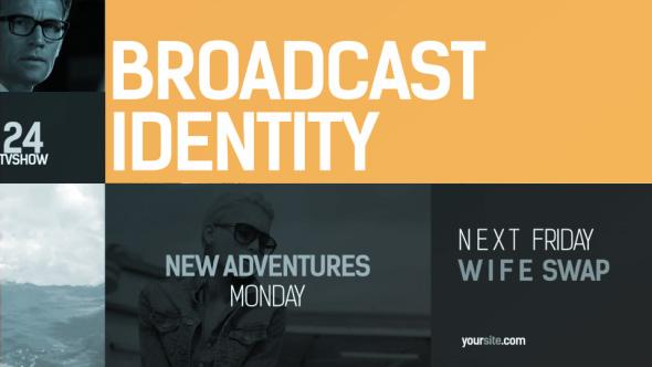 Broadcast Identity pack