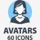 People Avatars Icons - Mono Series - GraphicRiver Item for Sale