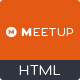 Meetup - Conference Event HTML Template - ThemeForest Item for Sale