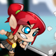 Pixie Girl Warrior Character Set - GraphicRiver Item for Sale