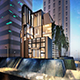 Mall Extirior Intirior Design  V-ray setup With PSD - 3DOcean Item for Sale