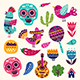 Symbols of Mexico - GraphicRiver Item for Sale