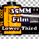 35 Mm Color Print Film Lower Third - VideoHive Item for Sale
