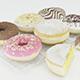 Donuts 3D Model - 3DOcean Item for Sale