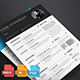 Clean Resume Template Vol.1 - GraphicRiver Item for Sale