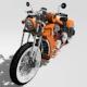custom motorcycle - 3DOcean Item for Sale