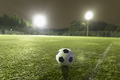 Soccer ball on sports field - PhotoDune Item for Sale