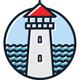 Lighthouse Logo - GraphicRiver Item for Sale