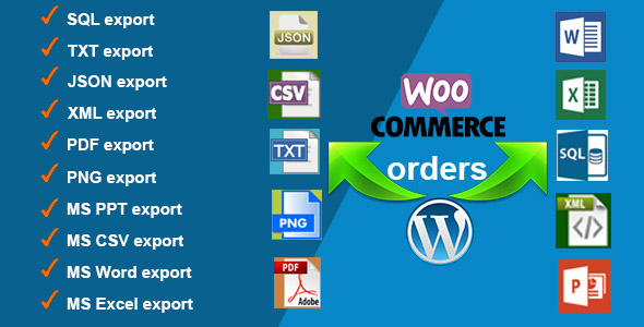 Orders Export for WooCommerce