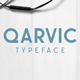 QARVIC Typeface - GraphicRiver Item for Sale