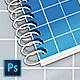 Spiral Horizontal Mockup A4 - GraphicRiver Item for Sale