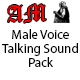Male Voice Talking Pack