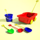 Low Poly Toys Pack - 3DOcean Item for Sale