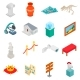 Museum Icons Set - GraphicRiver Item for Sale