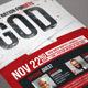 When A Nation Forgets God Poster Template  - GraphicRiver Item for Sale