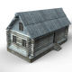 Wooden buildings - 3DOcean Item for Sale
