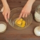 Woman Preparing a Muffins On The Kitchen Mixes Eggs - VideoHive Item for Sale
