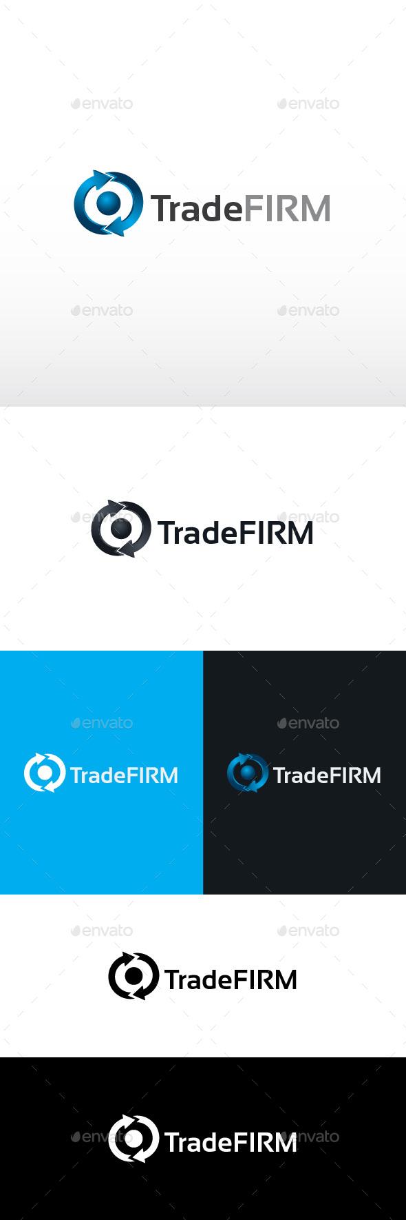 Trade Firm Logo Template