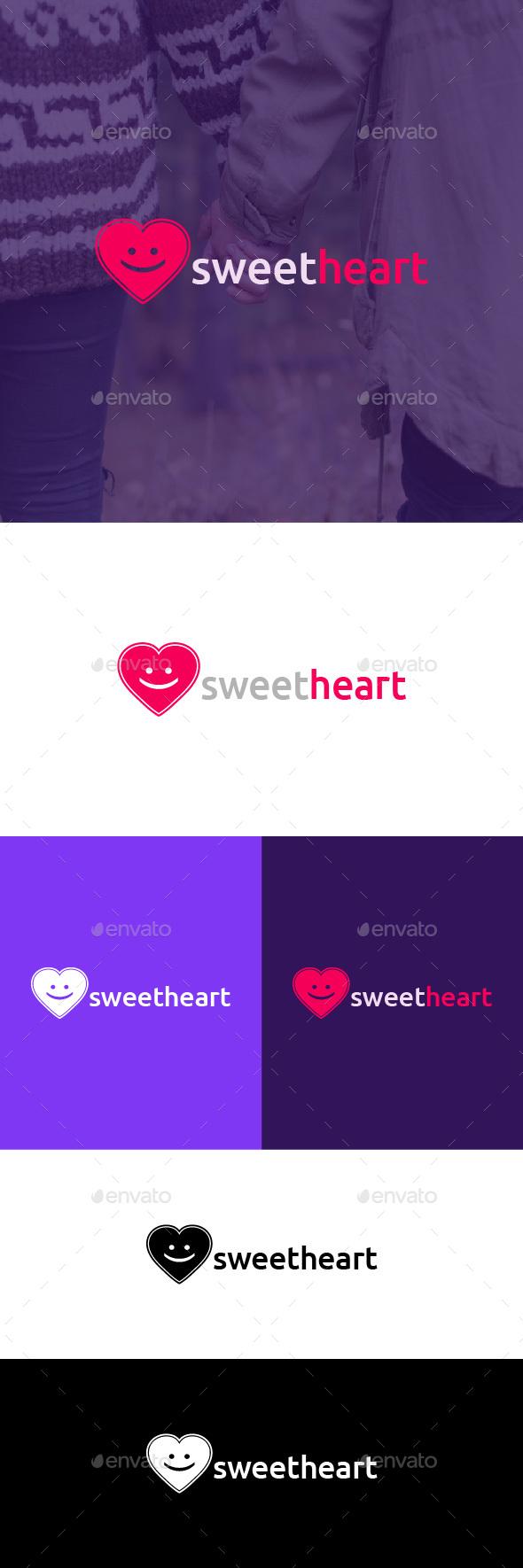 Sweetheart Logo Template