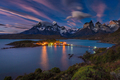 Lago Pehoe National Park Torres del Paine in southern Chile - PhotoDune Item for Sale