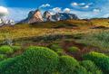 Lago Pehoe, National Park Torres del Paine in southern Chile. - PhotoDune Item for Sale