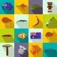 Australia Icons Flat - GraphicRiver Item for Sale
