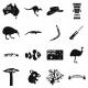 Australia Icons Simple - GraphicRiver Item for Sale