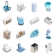 Home Appliances Icons - GraphicRiver Item for Sale