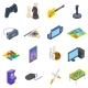 Games Icons Set - GraphicRiver Item for Sale