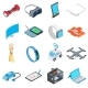 New Technology Icons Set - GraphicRiver Item for Sale