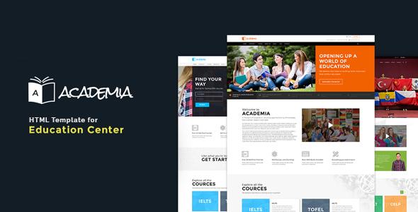 Education HTML Template - Academia