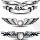 Winged Awards Set with Eagle - GraphicRiver Item for Sale