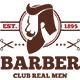 Barber Logo Template - GraphicRiver Item for Sale