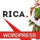 Rica - Responsive Restaurant WordPress Theme