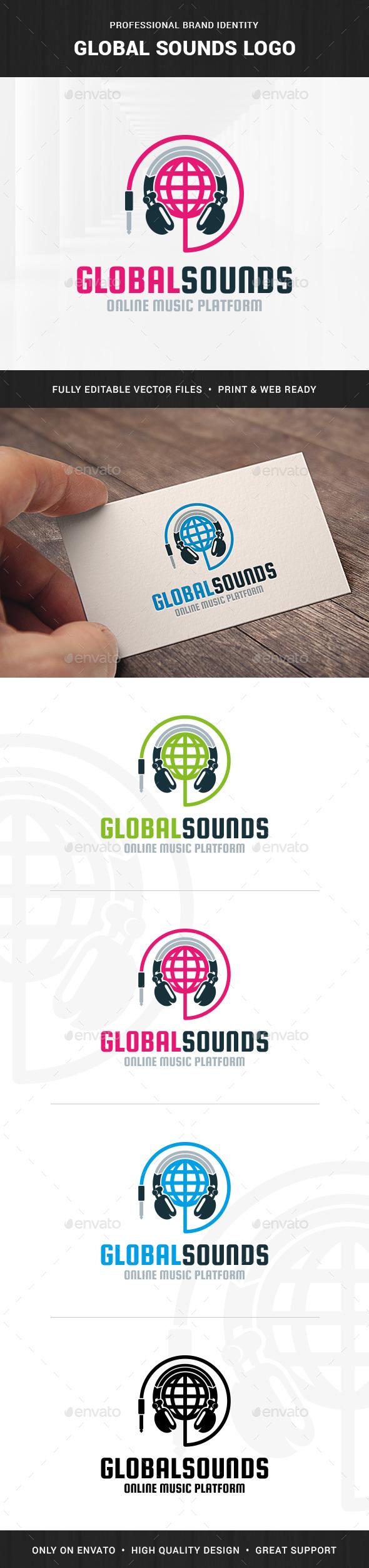 Global Sounds Logo Template