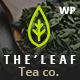 TheLeaf - Tea Production Company & Online Coffee Shop WordPress Theme - ThemeForest Item for Sale