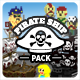 Pirate Ship Pack - 3DOcean Item for Sale